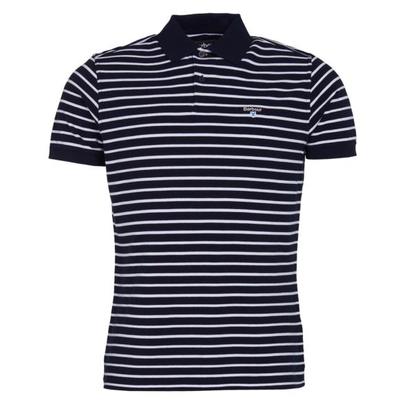 Barbour Styhead Stripe Polo Navy