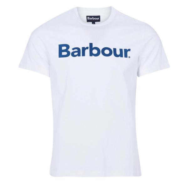 Barbour Logo T-Shirt White