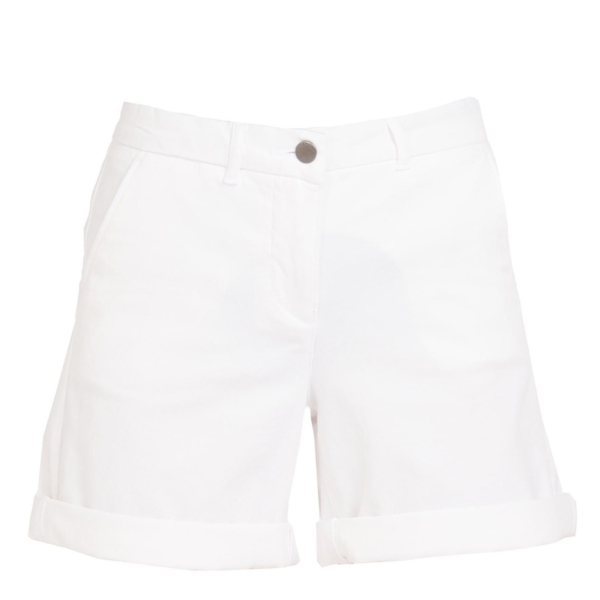 Barbour Womens Essential Chino Short White