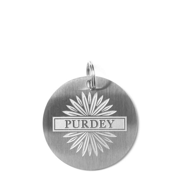 James Purdey Dog Tag Purdey Starburst