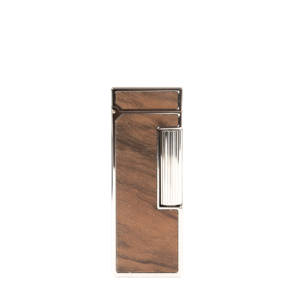 James Purdey Dunhill for Purdey Rollagas Lighter with Walnut Inlay