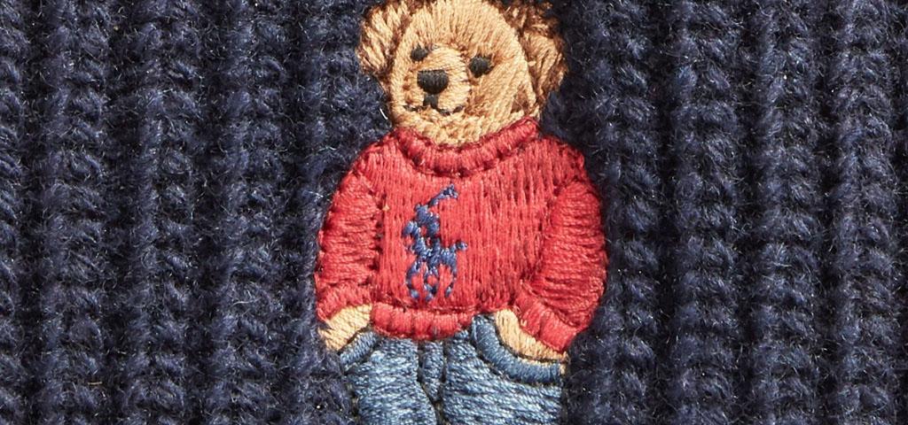 Ralph Lauren Polo Bear Embroidered Logo
