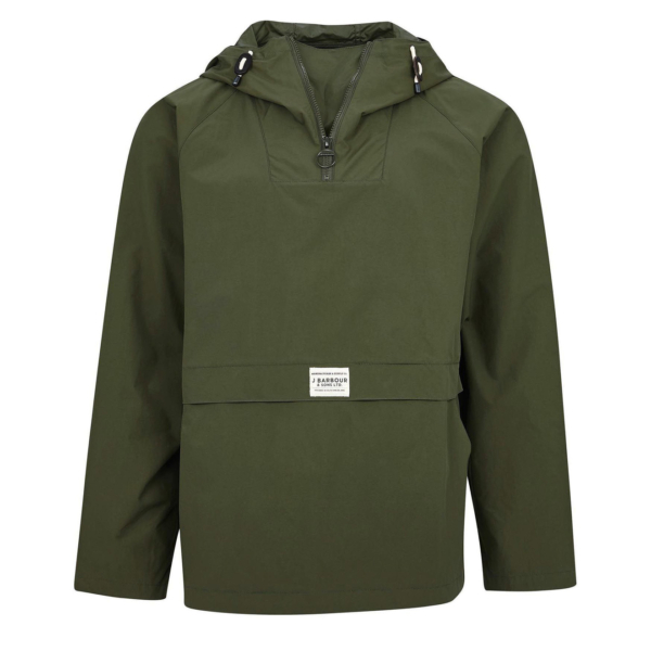 Barbour Alnot Casual Jacket Mid Olive