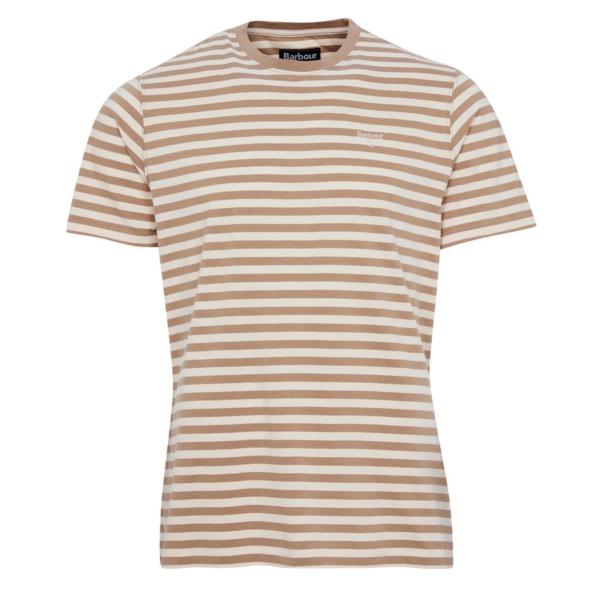 Barbour Delamere Stripe T-Shirt Coriander