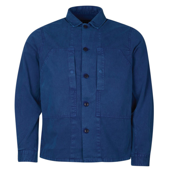 Barbour Loweswat Overshirt Washed Inky