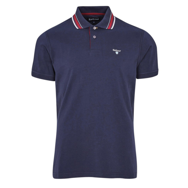Barbour Multi Tip Polo Navy