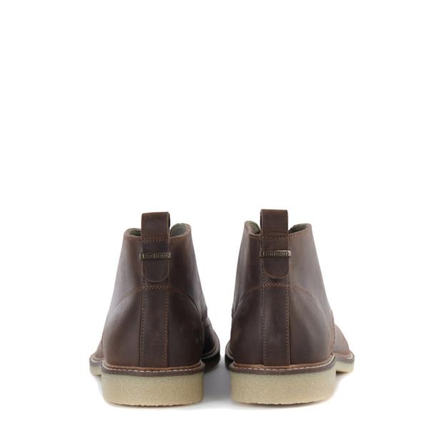 Barbour Nevada Chukka Boot Dark Brown