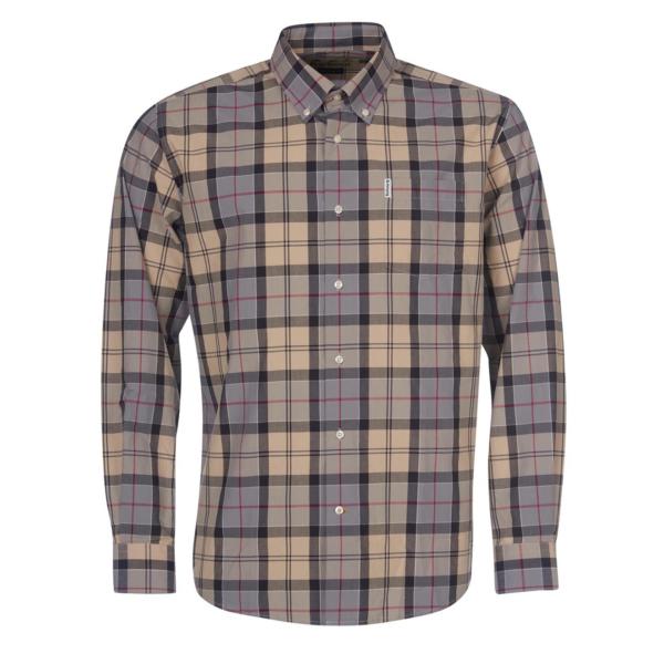 Barbour Tartan 7 Regular Fit Shirt Dress Tartan