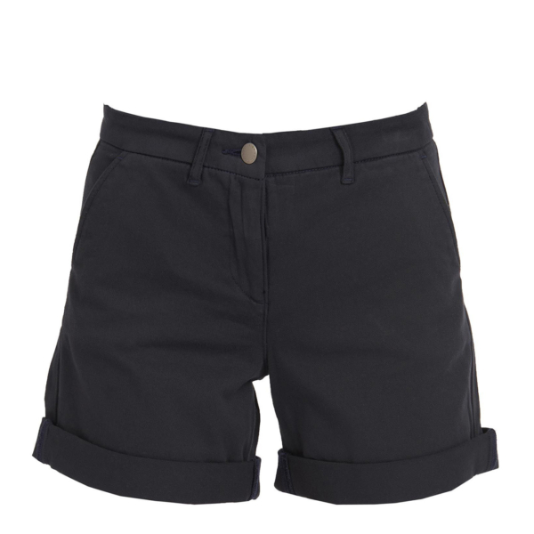 Barbour Womens Essential Chino Short Navy