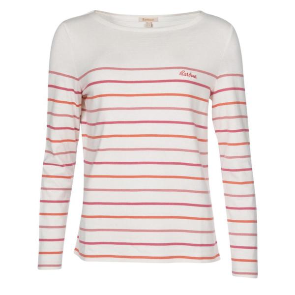 Barbour Womens Hawkins Stripe Top Multi Stripe