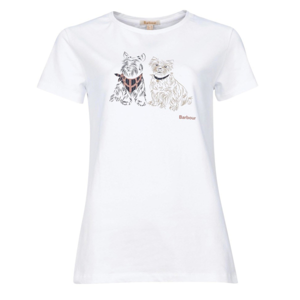 Barbour Womens Highlands Tee White