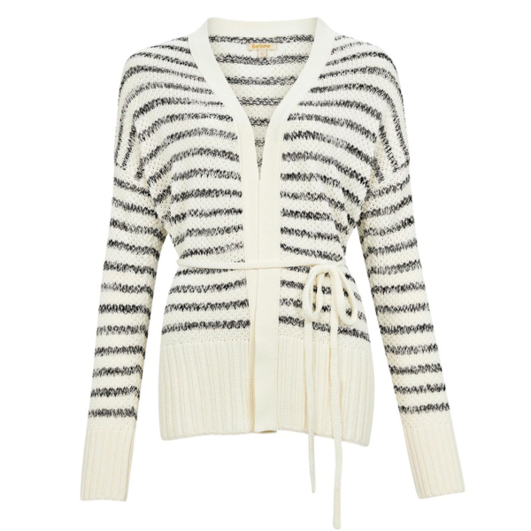 Barbour Womens Holywell Knit Off White