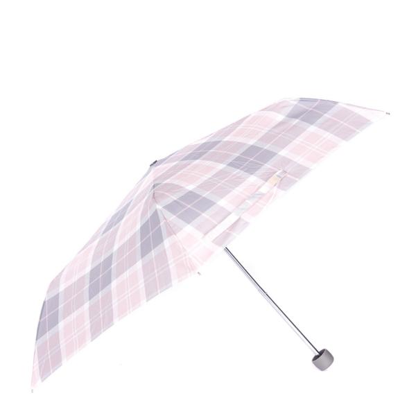 Barbour Womens Portree Umbrella Blossom Tartan