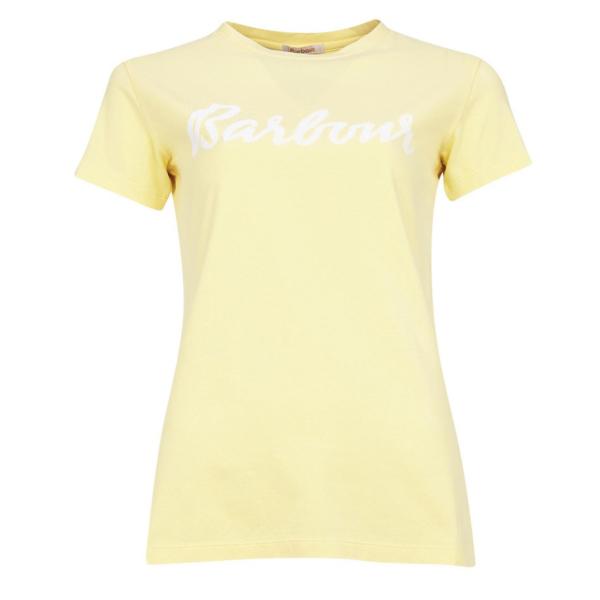 Barbour Womens Rebecca Tee Yellow Haze