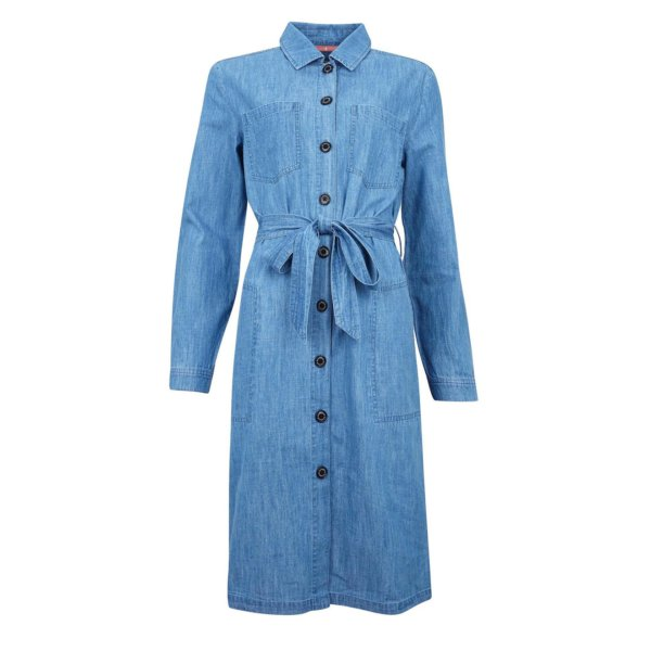 Barbour Womens Tynemouth Dress Authentic Wash