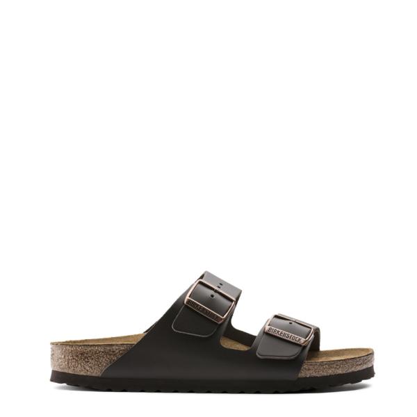 Birkenstock Arizona Sandal Womens Dark Brown Leather