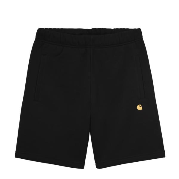 Carhartt Chase Sweat Short Black / Gold