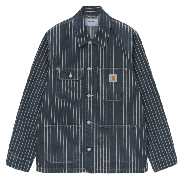 Carhartt Trade Michigan Coat Dark Navy / Wax Rinsed