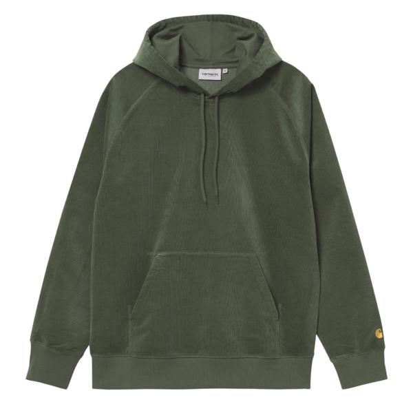 Carhartt Hooded Cord Sweat Dollar Green / Gold