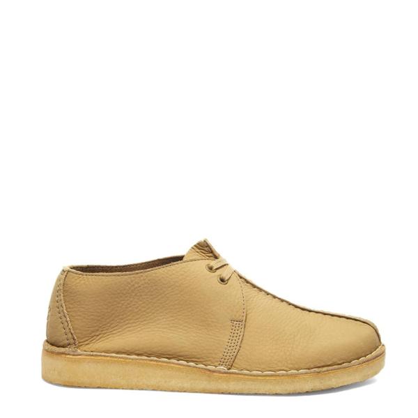 Clarks Originals Desert Trek Shoes Light Taupe