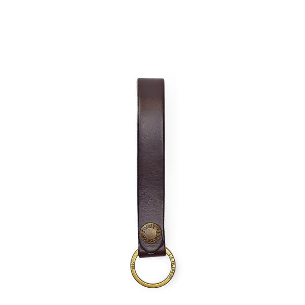 Filson Bridle Leather Key Strap Brown