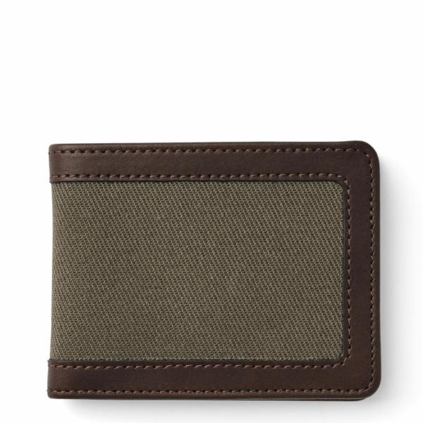 Filson Outfitter Wallet Otter Green