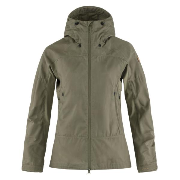 Fjallraven Womens Abisko Lite Trekking Jacket Light Olive