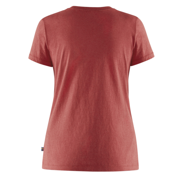 Fjallraven Womens Forever Nature T-Shirt Red