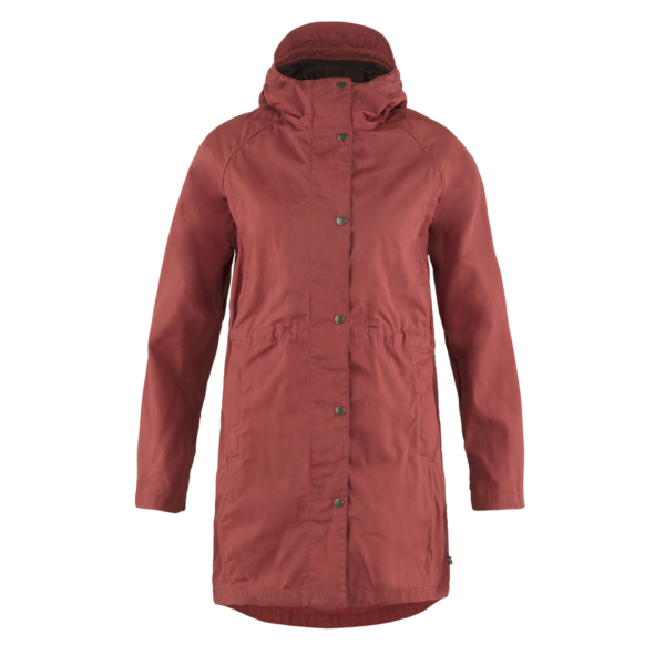 Fjallraven Womens Karla Lite Jacket Raspberry Red