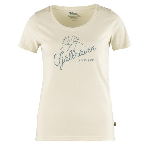 Fjallraven Womens Sunrise T-Shirt Chalk White