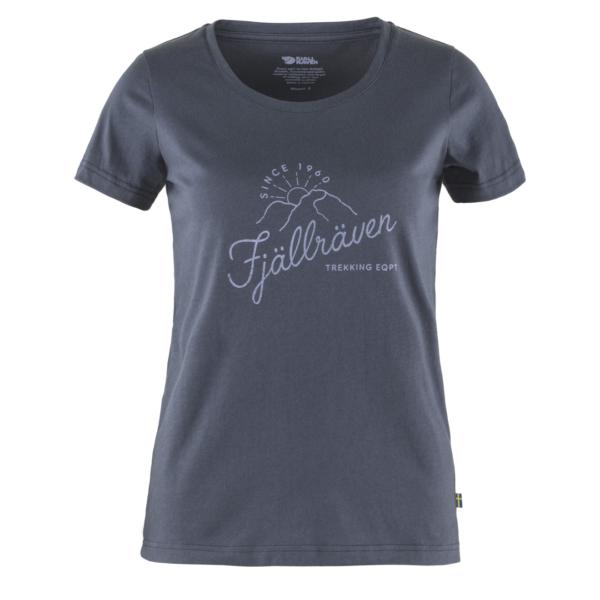 Fjallraven Womens Sunrise T-Shirt Navy
