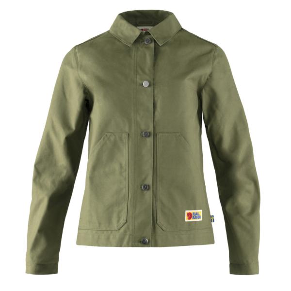 Fjallraven Womens Vardag Jacket Green