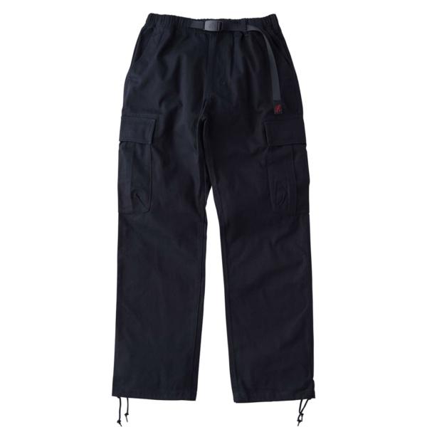 Gramicci Back Satin Cargo Pants Double Navy