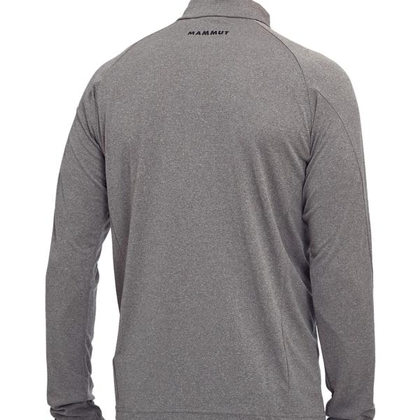 Mammut Aegility Half Zip Longsleeve T-Shirt Phantom Melange