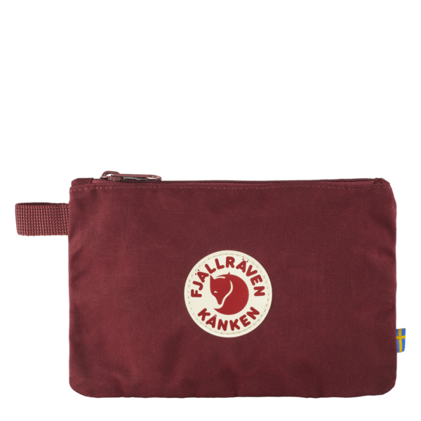 Fjallraven Kanken Gear Pocket Ox Red