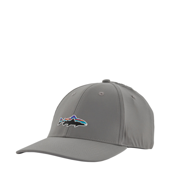 Patagonia Fitz Roy Trout Channel Watcher Cap Forge Grey