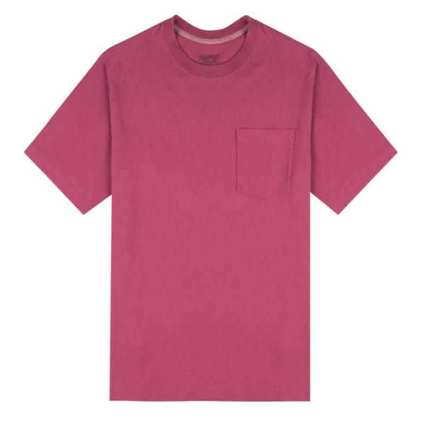 Patagonia Organic Cotton Midweight Pocket Tee Star Pink