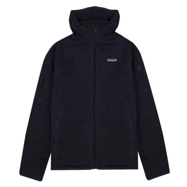 Patagonia Womens Better Sweater Hoody New Navy