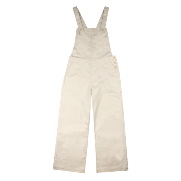 Patagonia Womens Stand Up Cropped Overalls Dyno White