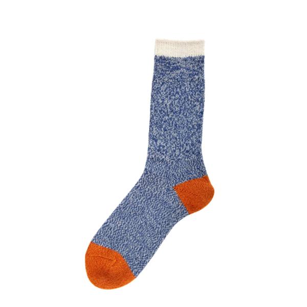 Patapaca Melange Sock Azul / Orange