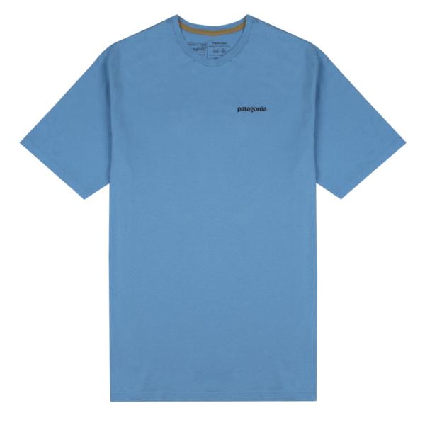 Patagonia Fitz Roy Fish Organic T-Shirt Lago Blue / Fitz Roy Tarpon