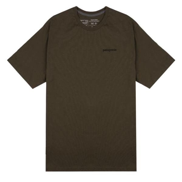 Patagonia Framed Fitz Roy Trout Organic T-Shirt Basin Green