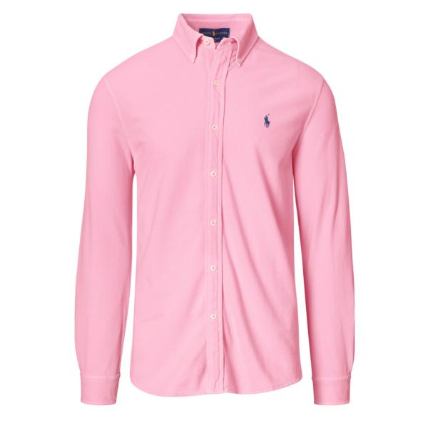 Polo Ralph Lauren Featherweight Mesh Shirt Carmel Pink