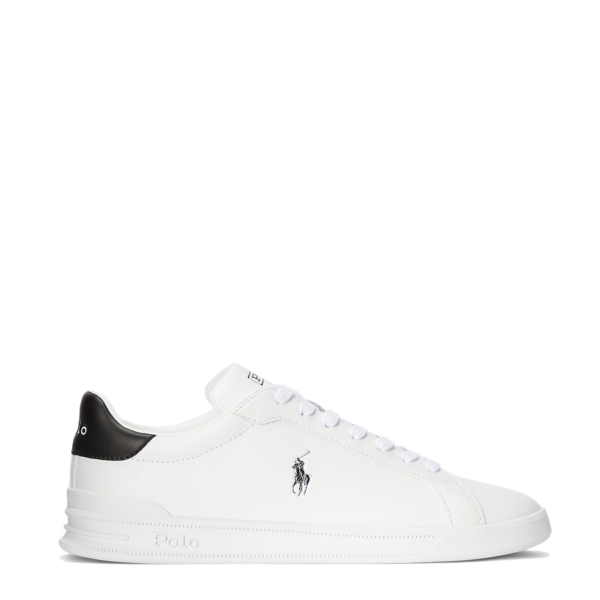 Polo Ralph Lauren Heritage Court II Leather Sneaker White / College Green PP