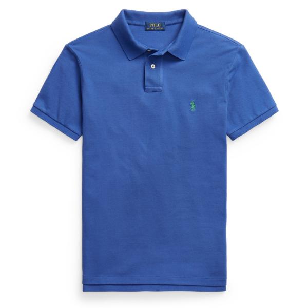 Polo Ralph Lauren Slim Fit Polo Shirt Bright Navy