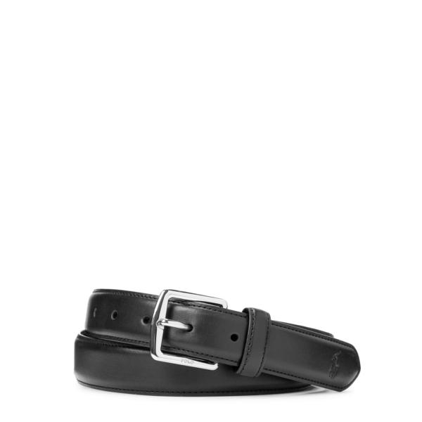 Polo Ralph Lauren Smooth Leather Belt Black