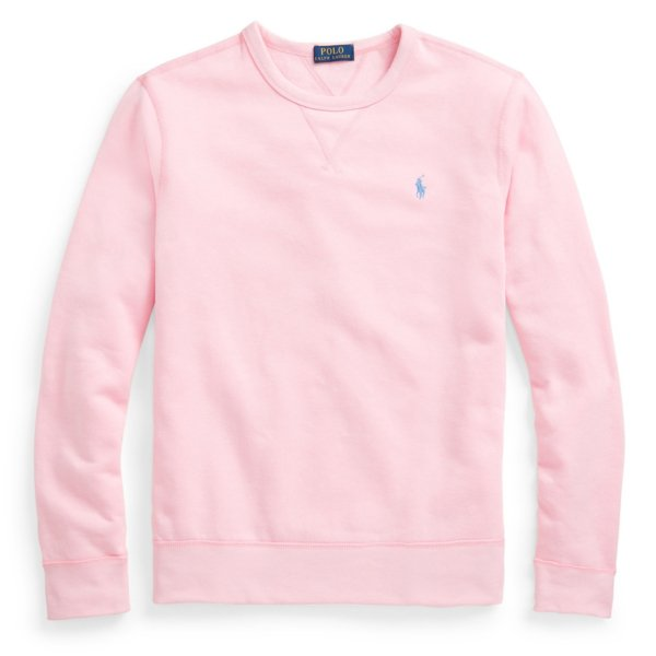 Polo Ralph Lauren The Cabin Fleece Sweatshirt Carmel Pink