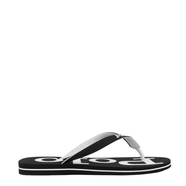 Polo Ralph Lauren Bolt Sandals Black / White