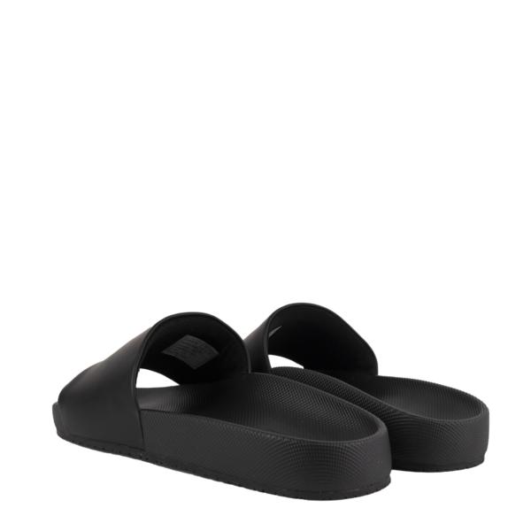 Polo Ralph Lauren Cayson Pony Slide Sandal Black / White