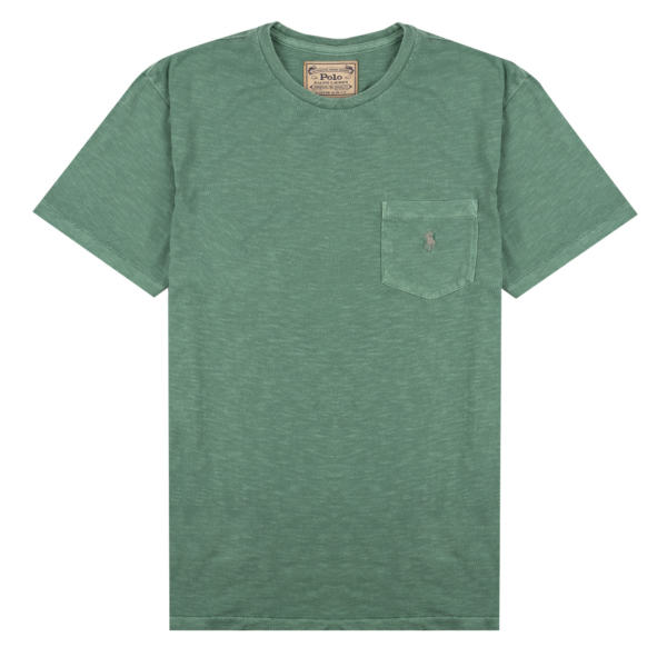 Polo Ralph Lauren Custom Slim Fit Pocket T-Shirt Haven Green